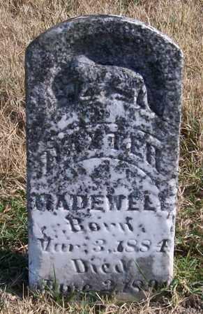 MADEWELL, BAXTER - Warren County, Tennessee   BAXTER MADEWELL - Tennessee Gravestone Photos