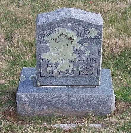 MARTIN, MARY SUE - Warren County, Tennessee   MARY SUE MARTIN - Tennessee Gravestone Photos