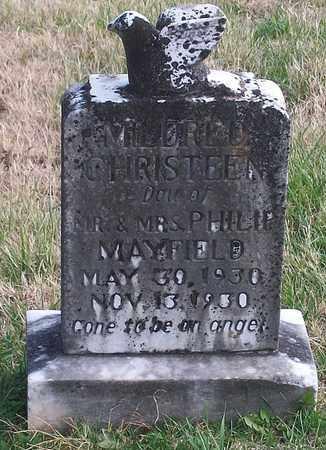 MAYFIELD, MILDRED CHRISTEEN - Warren County, Tennessee | MILDRED CHRISTEEN MAYFIELD - Tennessee Gravestone Photos