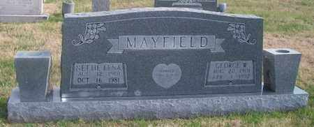 MAYFIELD, NETTIE LENA - Warren County, Tennessee | NETTIE LENA MAYFIELD - Tennessee Gravestone Photos