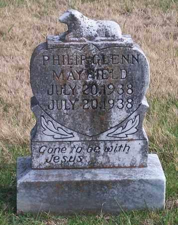 MAYFIELD, PHILIP GLENN - Warren County, Tennessee | PHILIP GLENN MAYFIELD - Tennessee Gravestone Photos