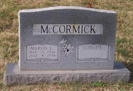 MCCORMICK, MARVIN L. - Warren County, Tennessee | MARVIN L. MCCORMICK - Tennessee Gravestone Photos