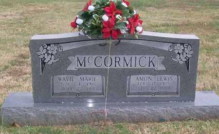 MCCORMICK, AMON LEWIS - Warren County, Tennessee | AMON LEWIS MCCORMICK - Tennessee Gravestone Photos