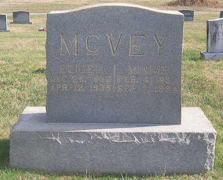 MCVEY, EZKIEL - Warren County, Tennessee | EZKIEL MCVEY - Tennessee Gravestone Photos