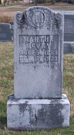 MCVEY, MARTHA - Warren County, Tennessee | MARTHA MCVEY - Tennessee Gravestone Photos