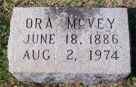 MCVEY, ORA - Warren County, Tennessee   ORA MCVEY - Tennessee Gravestone Photos