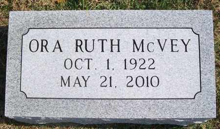 MCVEY, ORA RUTH - Warren County, Tennessee | ORA RUTH MCVEY - Tennessee Gravestone Photos