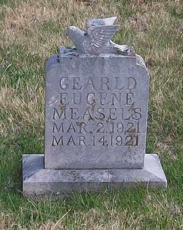 MEASELS, GEARLD EUGENE - Warren County, Tennessee | GEARLD EUGENE MEASELS - Tennessee Gravestone Photos