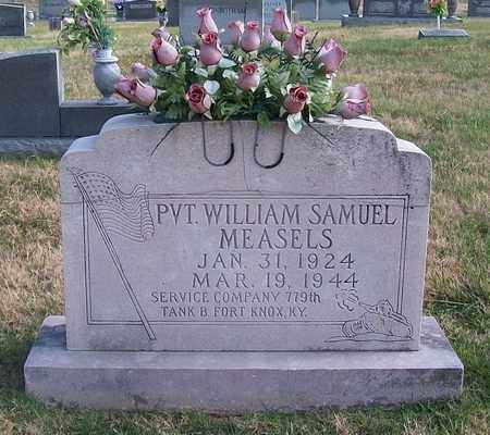 MEASELS (VETERAN), WILLIAM SAMUEL - Warren County, Tennessee | WILLIAM SAMUEL MEASELS (VETERAN) - Tennessee Gravestone Photos
