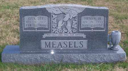 MEASELS, HENRY H. - Warren County, Tennessee | HENRY H. MEASELS - Tennessee Gravestone Photos