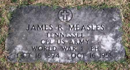 MEASLES (VETERAN WWI), JAMES R. - Warren County, Tennessee | JAMES R. MEASLES (VETERAN WWI) - Tennessee Gravestone Photos