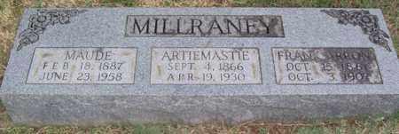 MILLRANEY, ARTIEMASTIE - Warren County, Tennessee | ARTIEMASTIE MILLRANEY - Tennessee Gravestone Photos