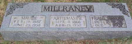 MILLRANEY, FRANK ARRON - Warren County, Tennessee | FRANK ARRON MILLRANEY - Tennessee Gravestone Photos