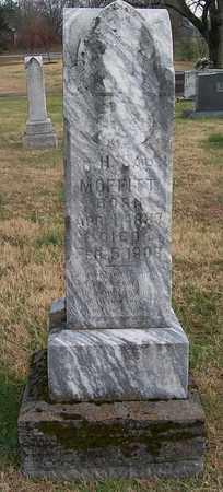 MOFFITT, C. H. SAP - Warren County, Tennessee | C. H. SAP MOFFITT - Tennessee Gravestone Photos
