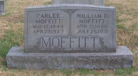 MOFFITT, WILLIAM D. - Warren County, Tennessee | WILLIAM D. MOFFITT - Tennessee Gravestone Photos