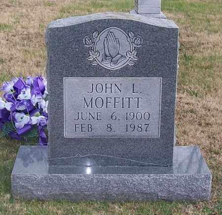 MOFFITT, JOHN L. - Warren County, Tennessee | JOHN L. MOFFITT - Tennessee Gravestone Photos