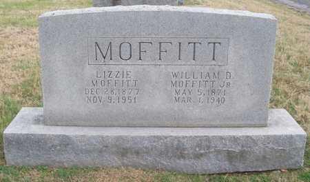 MOFFITT, LIZZIE - Warren County, Tennessee | LIZZIE MOFFITT - Tennessee Gravestone Photos