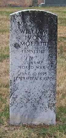MOFFITT (VETERAN WWI), WILLIAM IVON - Warren County, Tennessee | WILLIAM IVON MOFFITT (VETERAN WWI) - Tennessee Gravestone Photos