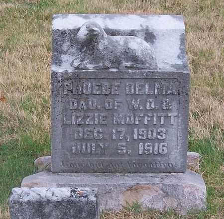 MOFFITT, PHOEBE DELMA - Warren County, Tennessee   PHOEBE DELMA MOFFITT - Tennessee Gravestone Photos
