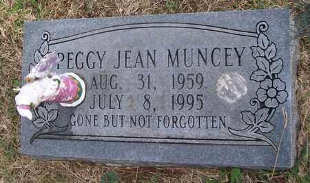 MUNCEY, PEGGY JEAN - Warren County, Tennessee | PEGGY JEAN MUNCEY - Tennessee Gravestone Photos