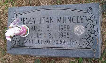 MUNCEY, PEGGY JEAN - Warren County, Tennessee | PEGGY JEAN MUNCEY - Tennessee Gravestone Photos
