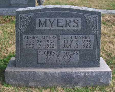 MYERS, J. H. - Warren County, Tennessee | J. H. MYERS - Tennessee Gravestone Photos