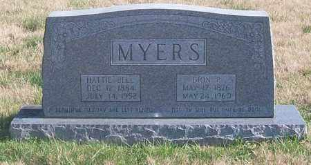 MYERS, HATTIE BELL - Warren County, Tennessee | HATTIE BELL MYERS - Tennessee Gravestone Photos