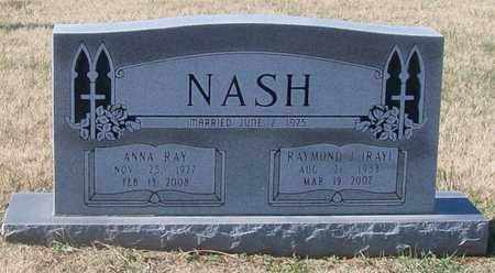 NASH, ANNA RAY - Warren County, Tennessee | ANNA RAY NASH - Tennessee Gravestone Photos