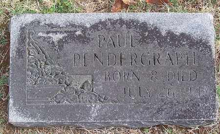 PENDERGRAPH, PAUL - Warren County, Tennessee | PAUL PENDERGRAPH - Tennessee Gravestone Photos