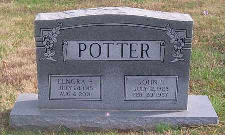 POTTER, JOHN H. - Warren County, Tennessee | JOHN H. POTTER - Tennessee Gravestone Photos