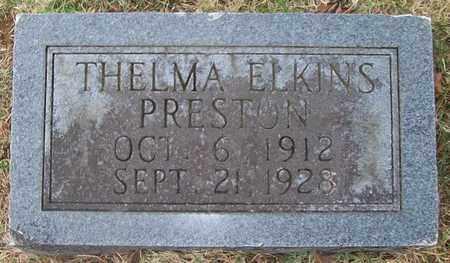 PRESTON, THELMA - Warren County, Tennessee | THELMA PRESTON - Tennessee Gravestone Photos