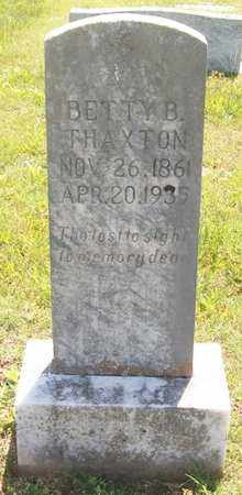 THAXTON, BETTY B. - Warren County, Tennessee | BETTY B. THAXTON - Tennessee Gravestone Photos