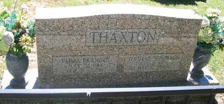 THAXTON, EMMA FRANCES - Warren County, Tennessee | EMMA FRANCES THAXTON - Tennessee Gravestone Photos