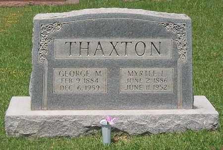 THAXTON, MYRTLE L. - Warren County, Tennessee | MYRTLE L. THAXTON - Tennessee Gravestone Photos