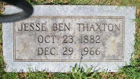 THAXTON, JESSE BEN - Warren County, Tennessee | JESSE BEN THAXTON - Tennessee Gravestone Photos