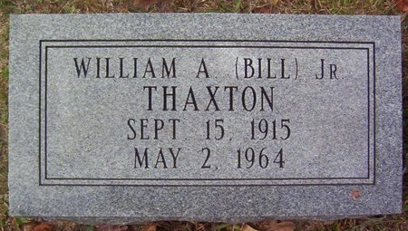 THAXTON, WILLIAM A. (BILL) (JR.) - Warren County, Tennessee | WILLIAM A. (BILL) (JR.) THAXTON - Tennessee Gravestone Photos