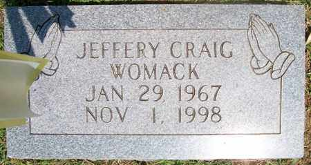 WOMACK, JEFFERY CRAIG - Warren County, Tennessee | JEFFERY CRAIG WOMACK - Tennessee Gravestone Photos