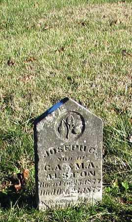 ALSTON, JOSEPH C. - Wayne County, Tennessee | JOSEPH C. ALSTON - Tennessee Gravestone Photos