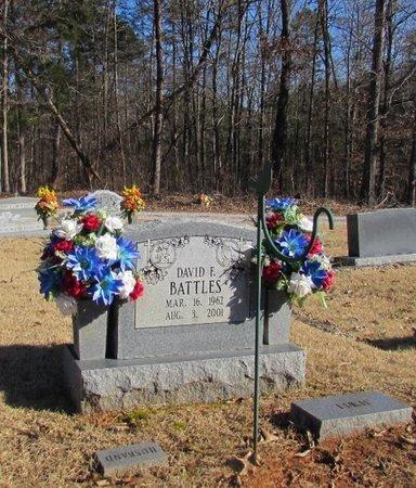 BATTLES, DAVID E. - Wayne County, Tennessee   DAVID E. BATTLES - Tennessee Gravestone Photos