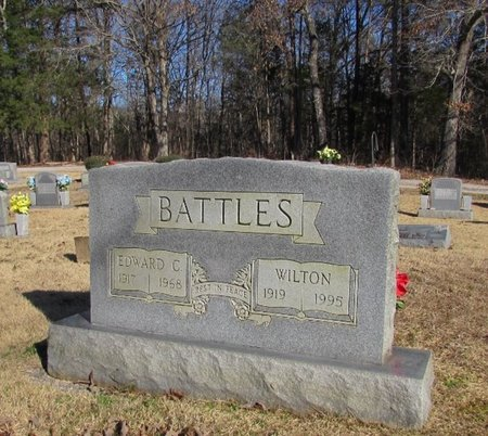 BATTLES, EDWARD C. - Wayne County, Tennessee | EDWARD C. BATTLES - Tennessee Gravestone Photos