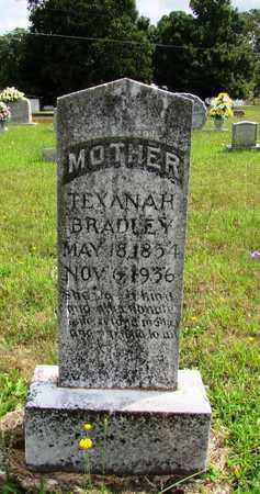 BRADLEY, TEXANA H. - Wayne County, Tennessee | TEXANA H. BRADLEY - Tennessee Gravestone Photos