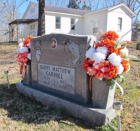 CARROLL, BARRY MATTHEW - Wayne County, Tennessee | BARRY MATTHEW CARROLL - Tennessee Gravestone Photos