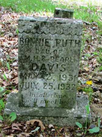 DAVIS, BONNIE RUTH - Wayne County, Tennessee | BONNIE RUTH DAVIS - Tennessee Gravestone Photos