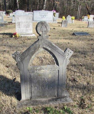 DAVIS, FAY - Wayne County, Tennessee | FAY DAVIS - Tennessee Gravestone Photos