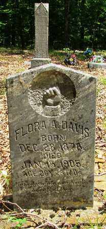 DAVIS, FLORA - Wayne County, Tennessee   FLORA DAVIS - Tennessee Gravestone Photos