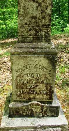 DAVIS, HARVEY WADE - Wayne County, Tennessee | HARVEY WADE DAVIS - Tennessee Gravestone Photos