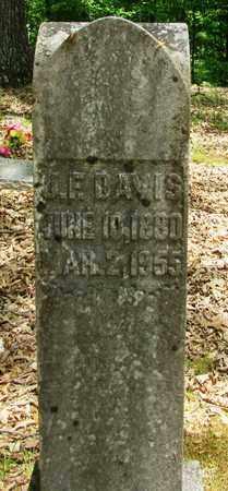 DAVIS, JOHN FRANKLIN - Wayne County, Tennessee | JOHN FRANKLIN DAVIS - Tennessee Gravestone Photos
