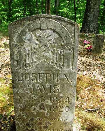 DAVIS (VETERAN UNION), JOSEPH NOAH - Wayne County, Tennessee | JOSEPH NOAH DAVIS (VETERAN UNION) - Tennessee Gravestone Photos