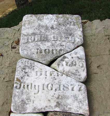 DIXON, JOHN (ORIGINAL STONE) - Wayne County, Tennessee | JOHN (ORIGINAL STONE) DIXON - Tennessee Gravestone Photos