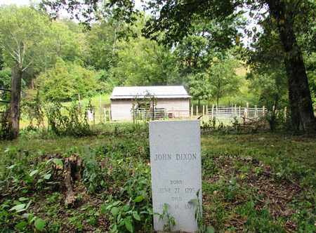 DIXON, JOHN - Wayne County, Tennessee | JOHN DIXON - Tennessee Gravestone Photos